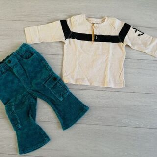 GAP長袖Tシャツ·F.O.KIDS ズボン サイズ80