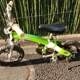 子供用自転車 12インチ 中古 タイヤオッケイ ブレーキオッケイ