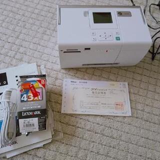 写真プリンター  自宅用SDカードから印刷可