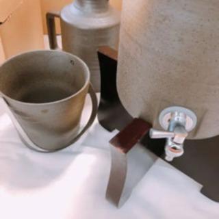 陶器出できた 焼酎サーバー