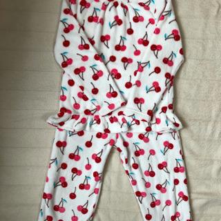 女の子 140cm あったかパジャマセット
