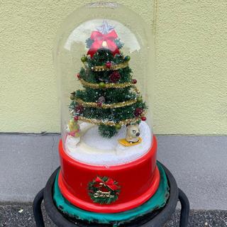 ハム太郎の雪ふるツリースノードーム