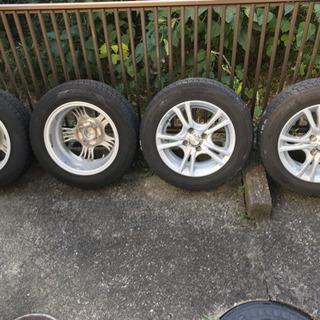 スタッドレス タイヤ  175//65R14  アルミホイール ...