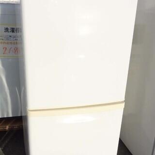 【恵庭PayPay対応】パナソニック 2ドア冷蔵庫 11年…