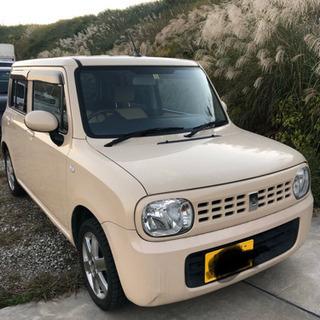 ☆アルトラパン☆ 希少4WD バリ山スタッドレス付き!検査…