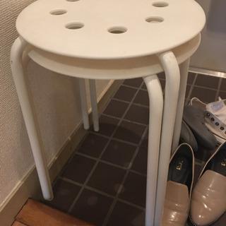 IKEA スツール 2式