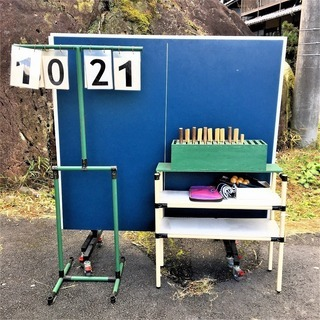 【恵那・ひまつぶし堂】ジャパーナ 卓球台 NBLコクサイ16 フ...