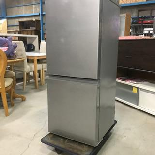 2018年製 AQUA ノンフロン冷凍冷蔵庫 AQR-13G 126L