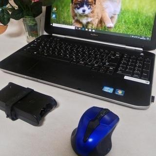 【 新品部品使用 SSD、キーボード 】 ノートパソコン DEL...