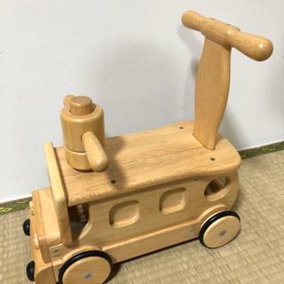 木馬、木の乗り物、おもちゃ10ヵ月〜3歳押し歩きも❗️【取引中】