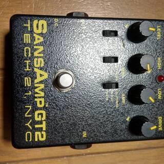TECH21 Sansamp GT2 アンプシミュレータ