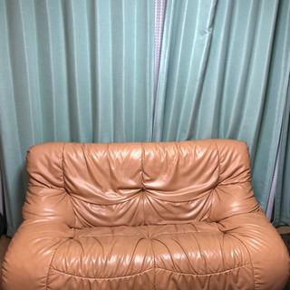 【お渡し先決まりました】本革ソファーの画像