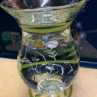 SOGAガラス  手書き工房 大きな花瓶