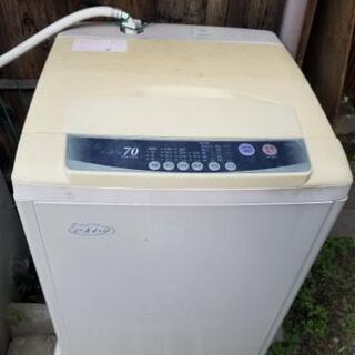 デッカイ洗濯機60リットル