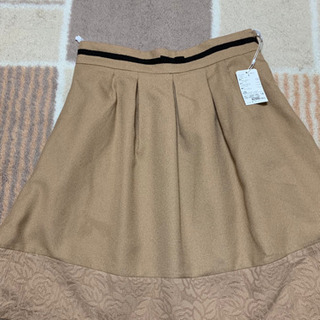 【値下げ1000→800】ベージュスカート Sサイズ