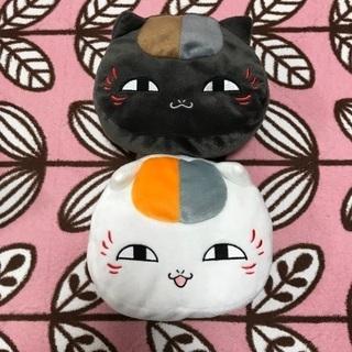 【タグ付】ニャンコ先生ぬいぐるみポーチ