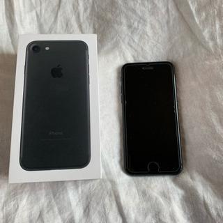 ・iPhone7 128GB ブラック SIMフリー