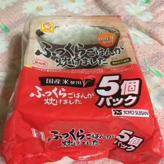 無菌米飯(チンご飯)5個入パック(1袋) 250円 賞味期限20...