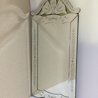 鏡★LJ-H024★【新品未使用】【傷・汚れ・サビあり】