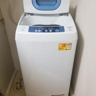 HITACHI 5kg 洗濯機 2015年製