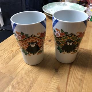 【今週末まで】波佐見焼?くまモンの陶器のコップ