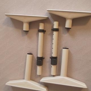 家具転倒防止棒 アイボリー2本セット (耐震突っ張り棒)