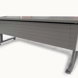 会議テーブル オカムラ 天板折りたたみ式 8184 幅180×奥...