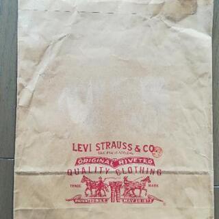 Levi's 紙袋(レア物)&袋セット
