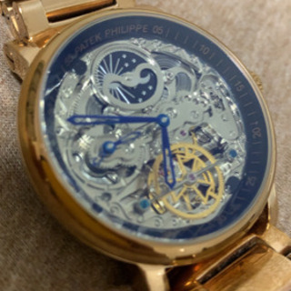 腕時計 スケルトン