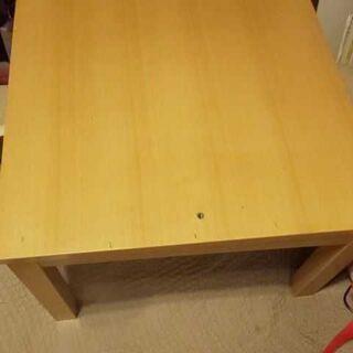 無印良品MUJIこたつテーブル65cm正方形