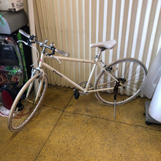 クロスバイク 28インチ VIENT 白色 自転車 現状販売品
