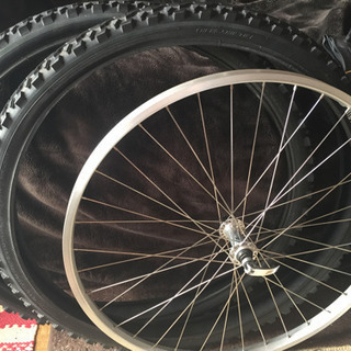 【12/10 値下げしました】マウンテンバイク タイヤ ホイール...