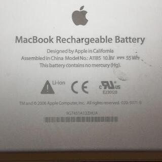 《ジャンク》mac book rechargeable batt...