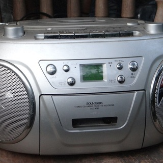 CDステレオラジカセ  SAD-4780  (訳有り)