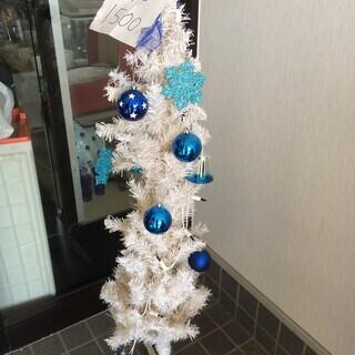 最終処分! 300円 クリスマスツリー 130cm 電飾付き