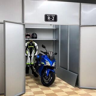 【菊陽】【完全個室型貸しバイクガレージ】【月極】【バイク駐車場】