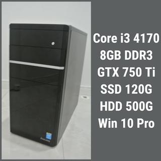 【値下げ】ライトゲーミングPC Core i3 4170 8GB...