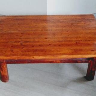 【昭和レア】貴重な木製テーブル