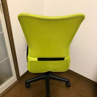 オフィスチェア 【黄緑】