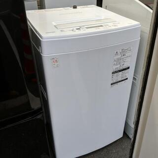 洗濯機 東芝 AW-45M5 2017年製  4.5kg 【安...