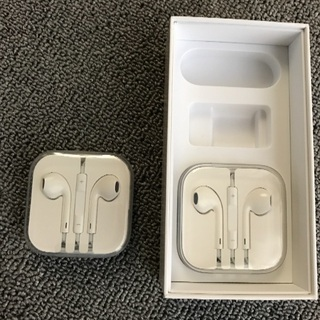 iPhone6イヤホン純正新品未使用2つ