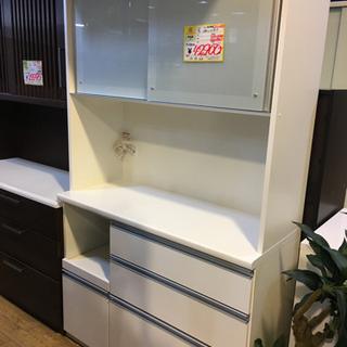 美品 松田家具 2面レンジボード アーバンstyle 日本製