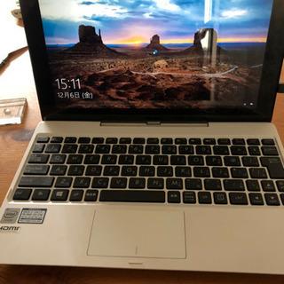 【取引中】2in1 タブレット+ノートPCモバイル ASUS T...