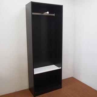IKEA ワードローブ おしゃれ 幅75 高さ202 cm 衣類...