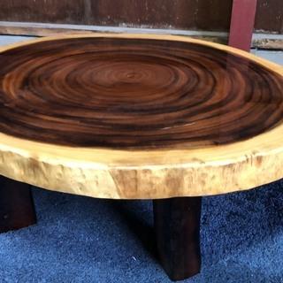 一枚板テーブル 重量あります