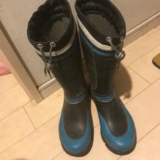 ジュニア長靴 22センチ