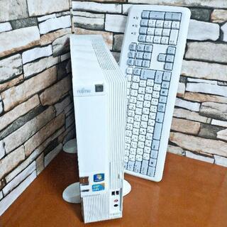 富士通のCore i3デスクトップパソコン!