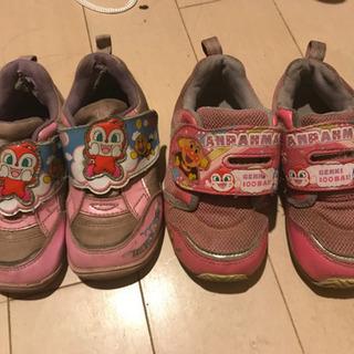 アンパンマン靴 2足 16センチ