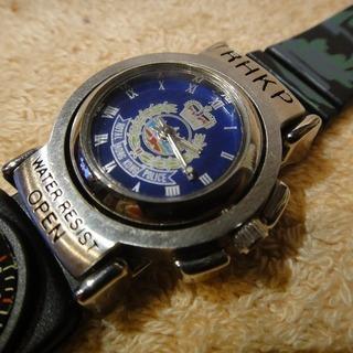 メンズ腕時計・香港警察正規品・新品未使用・デッドストック品・入手困難