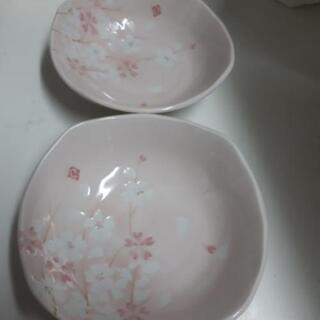 桜柄の小鉢